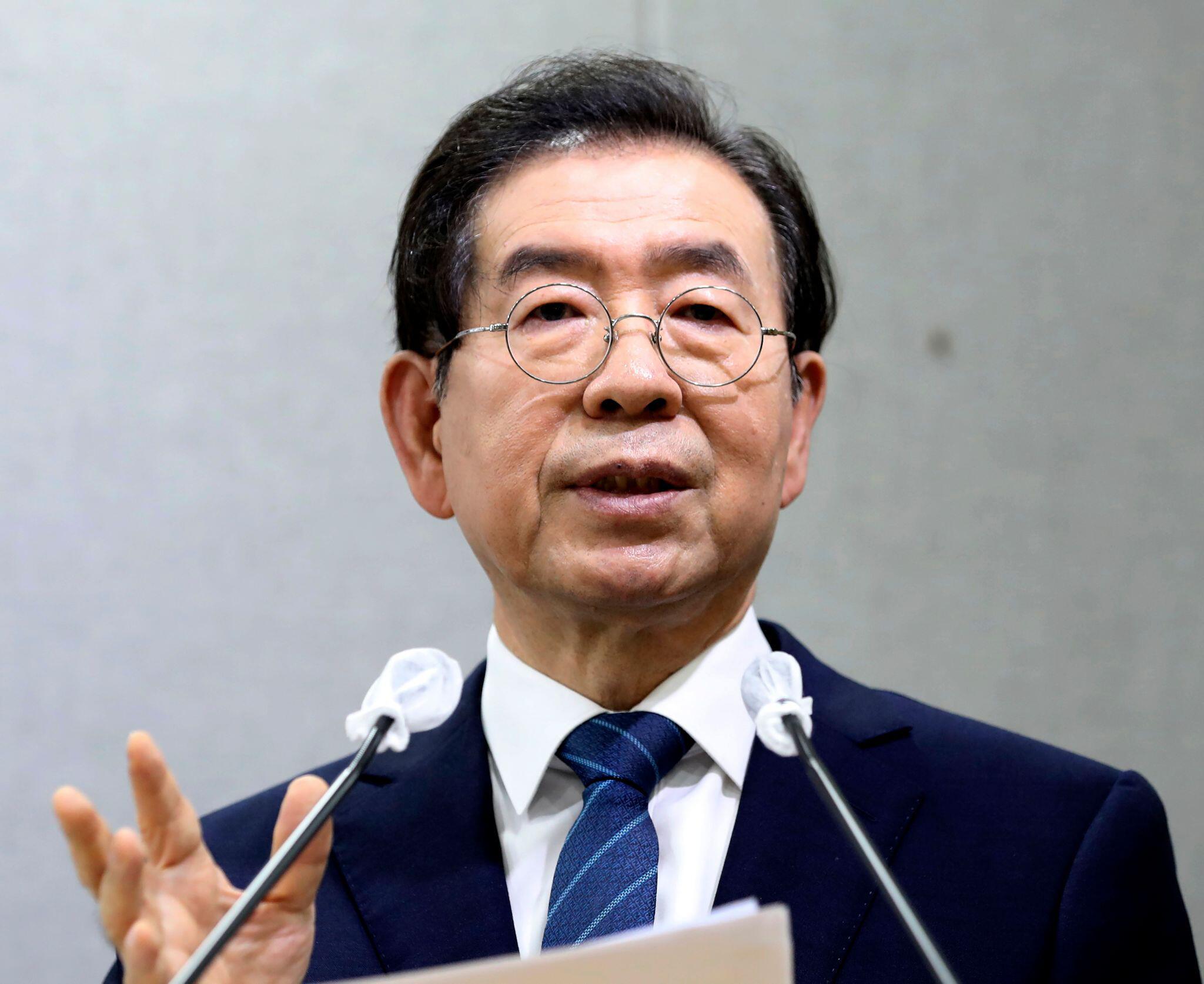 Bild zu Bürgermeister von Seoul tot aufgefunden