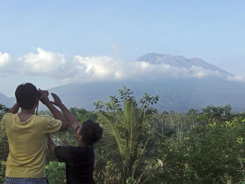 Bild zu Vulkan auf Bali