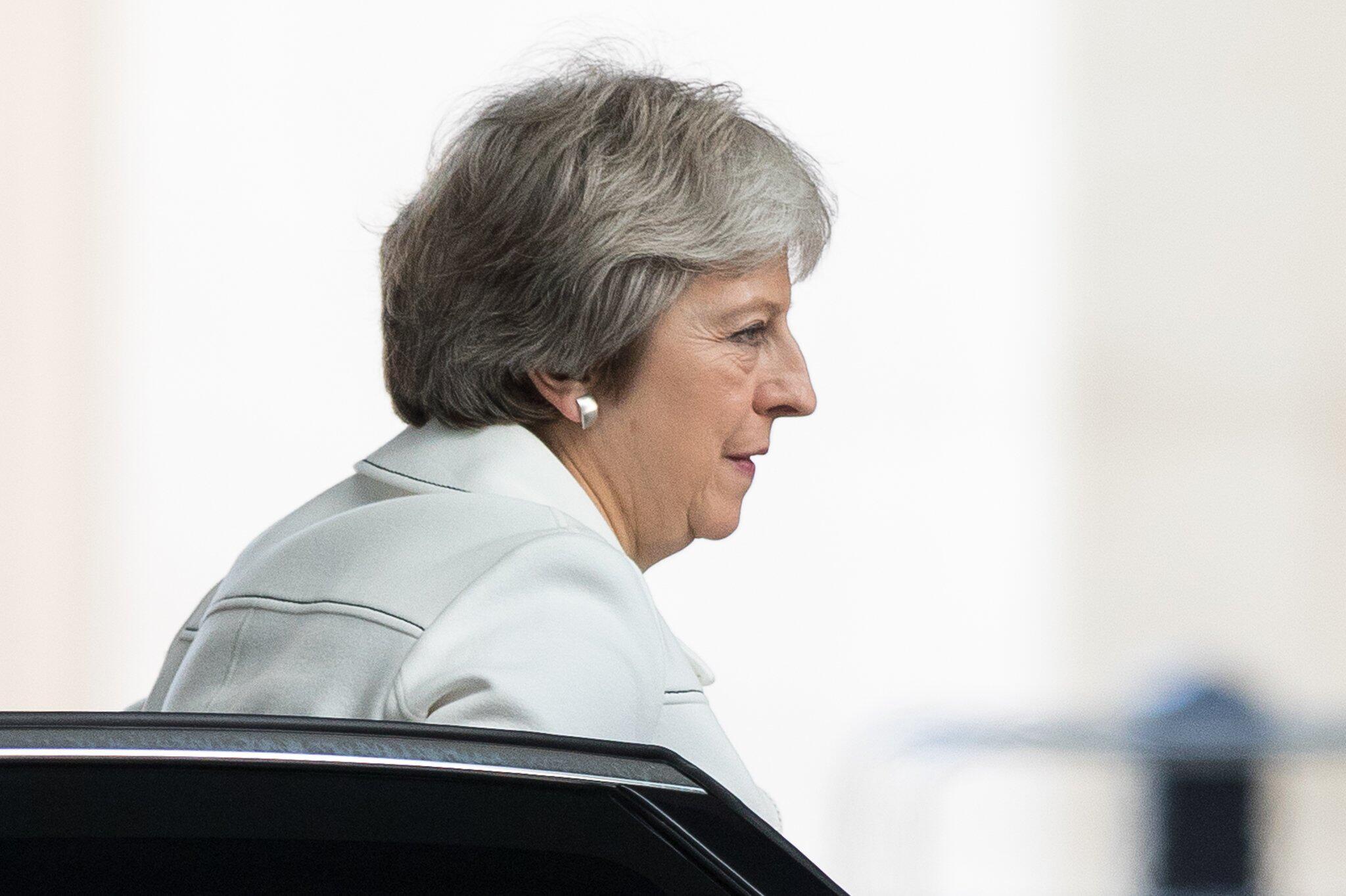 Bild zu Premierministerin May zur Andrew Marr Show