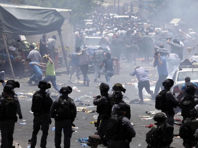 Bild zu Unruhen in Jerusalem