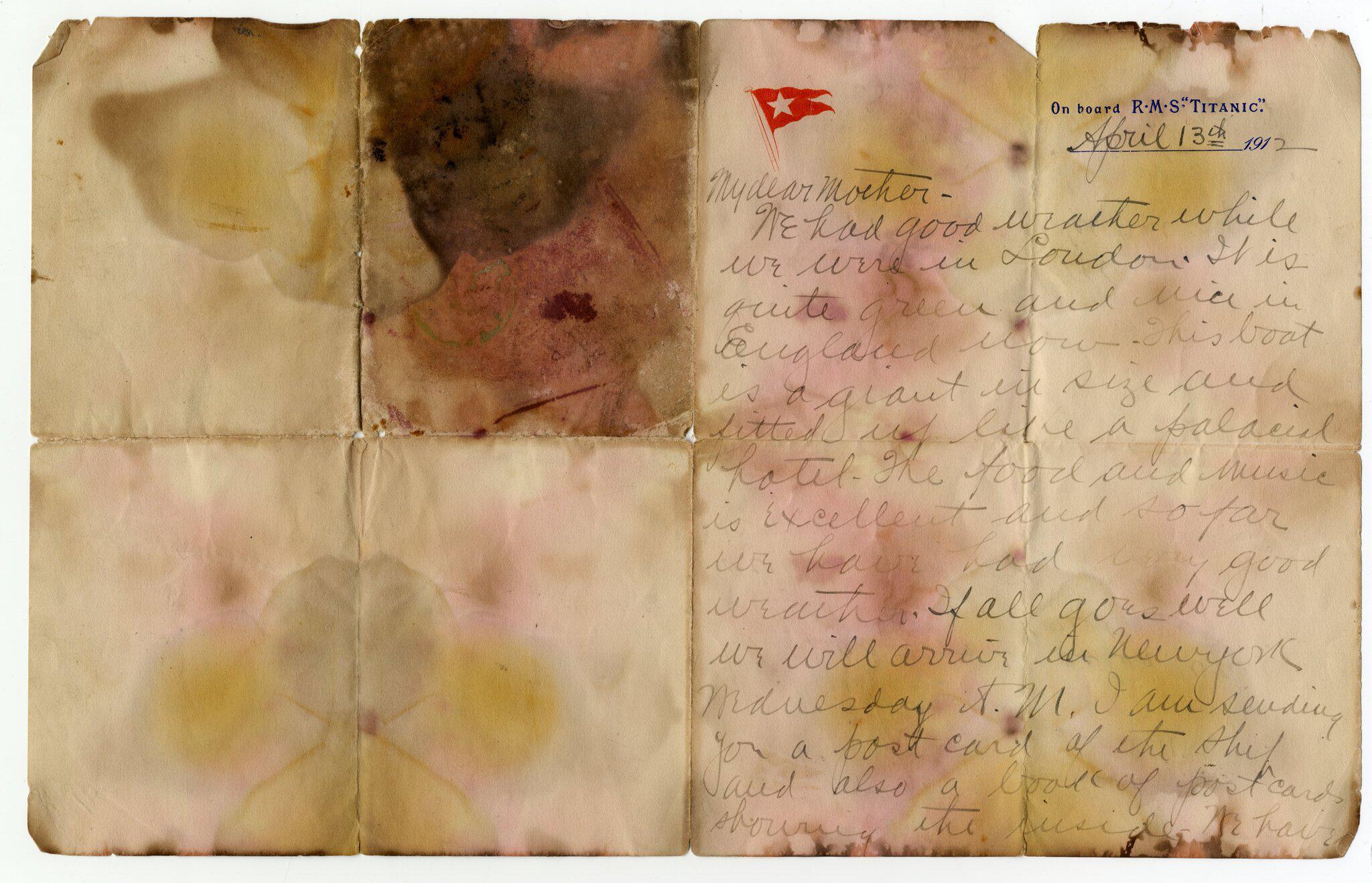 Bild zu Versteigerung von Titanic-Memorabilien