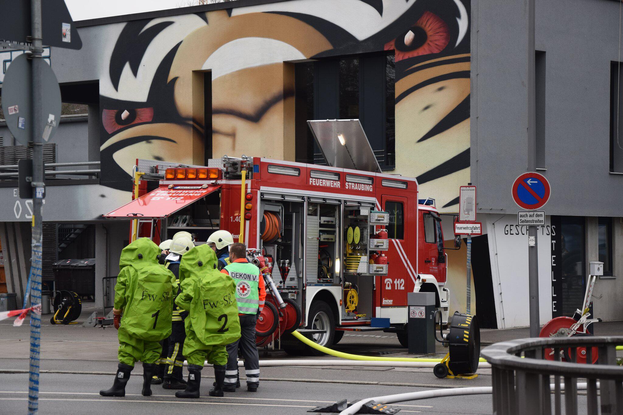 Bild zu Verletzte bei Ammoniak-Austritt in Straubing