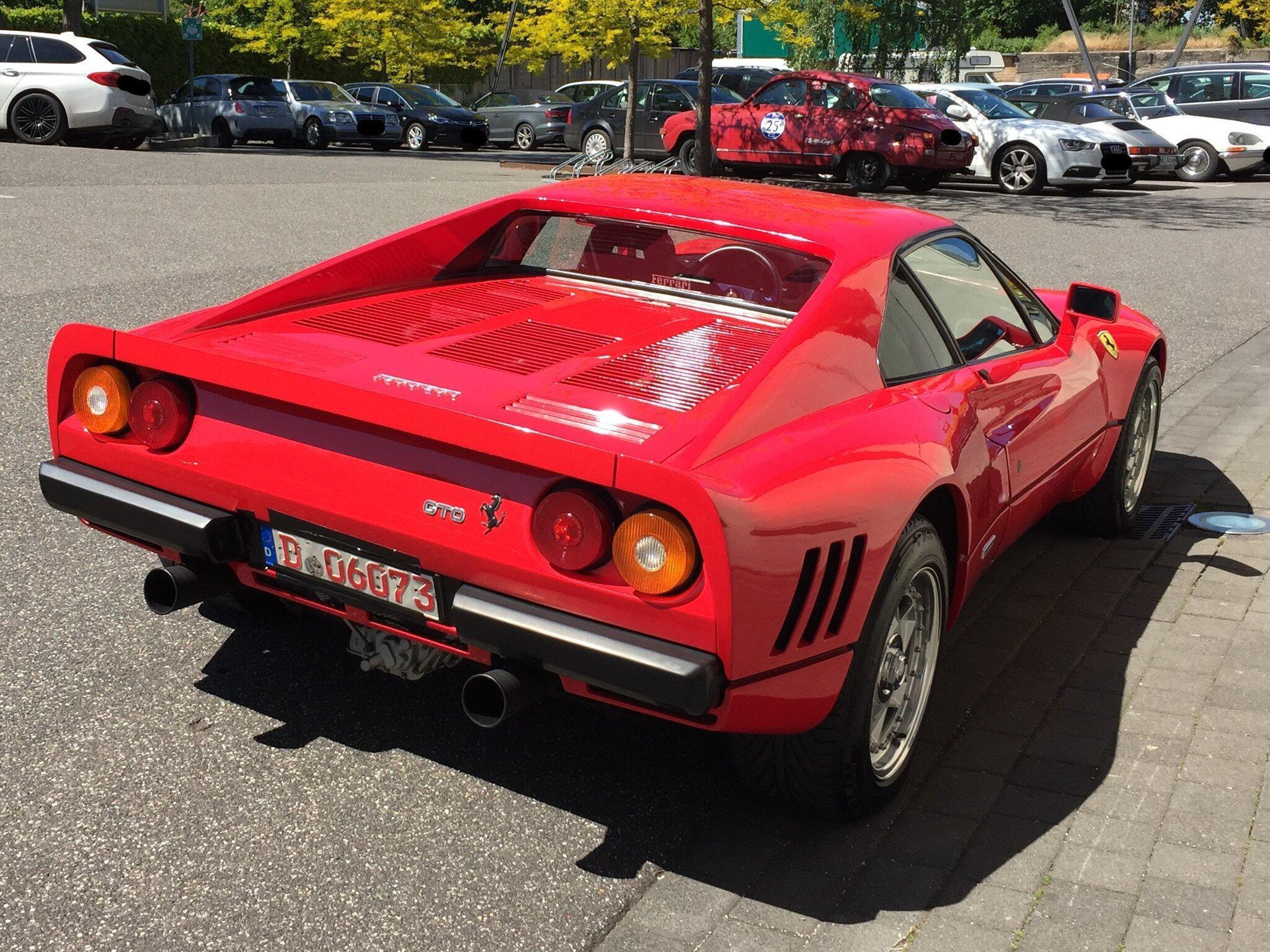 Bild zu Gestohlener Ferrari
