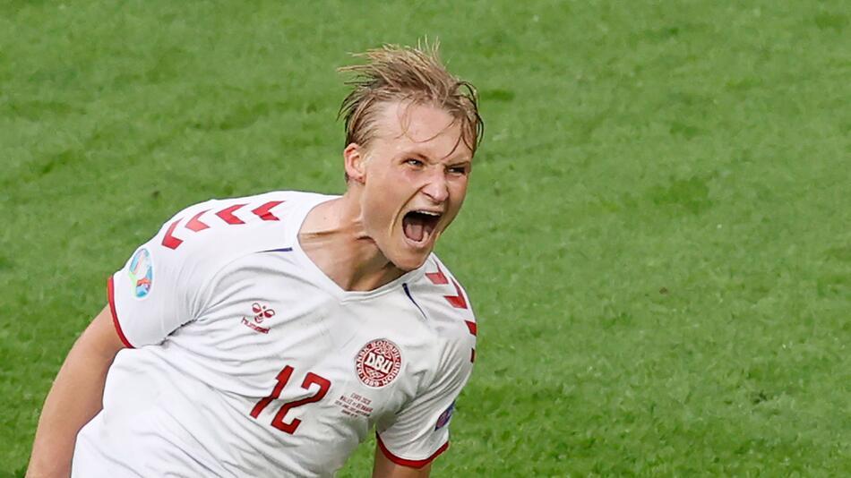 Fußball EM - Wales - Dänemark