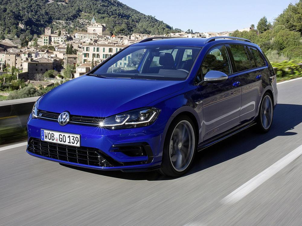Bild zu VW Golf Variant R