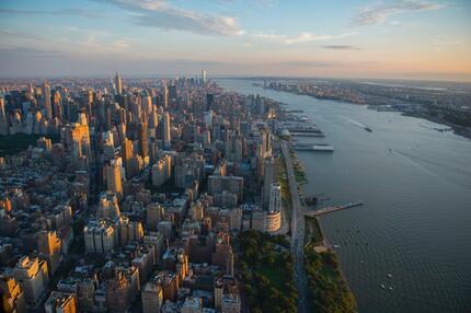Upper West Side und Hudson River