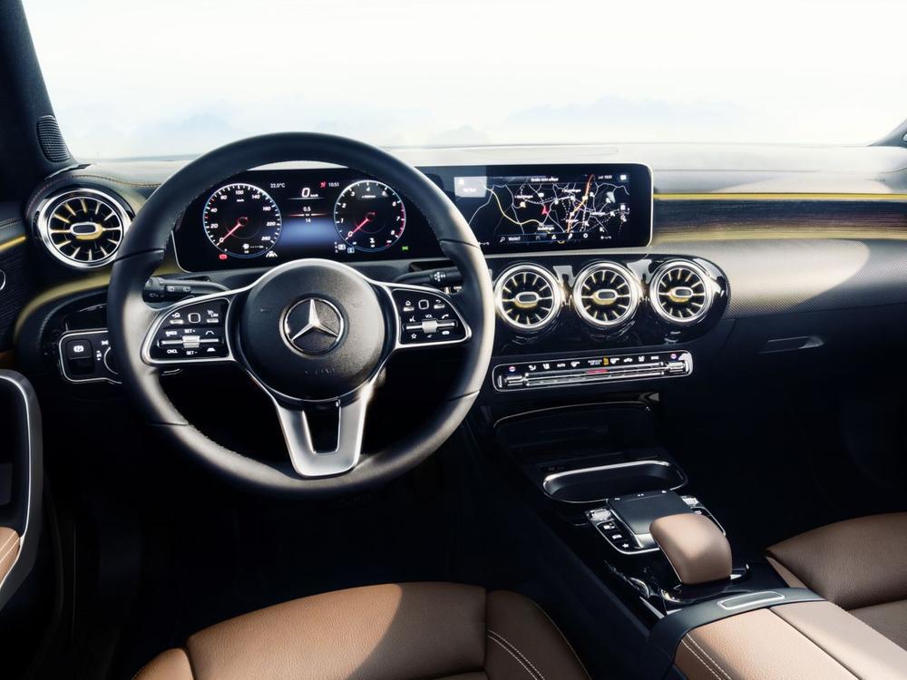 Bild zu Interieur Mercedes A-Klasse