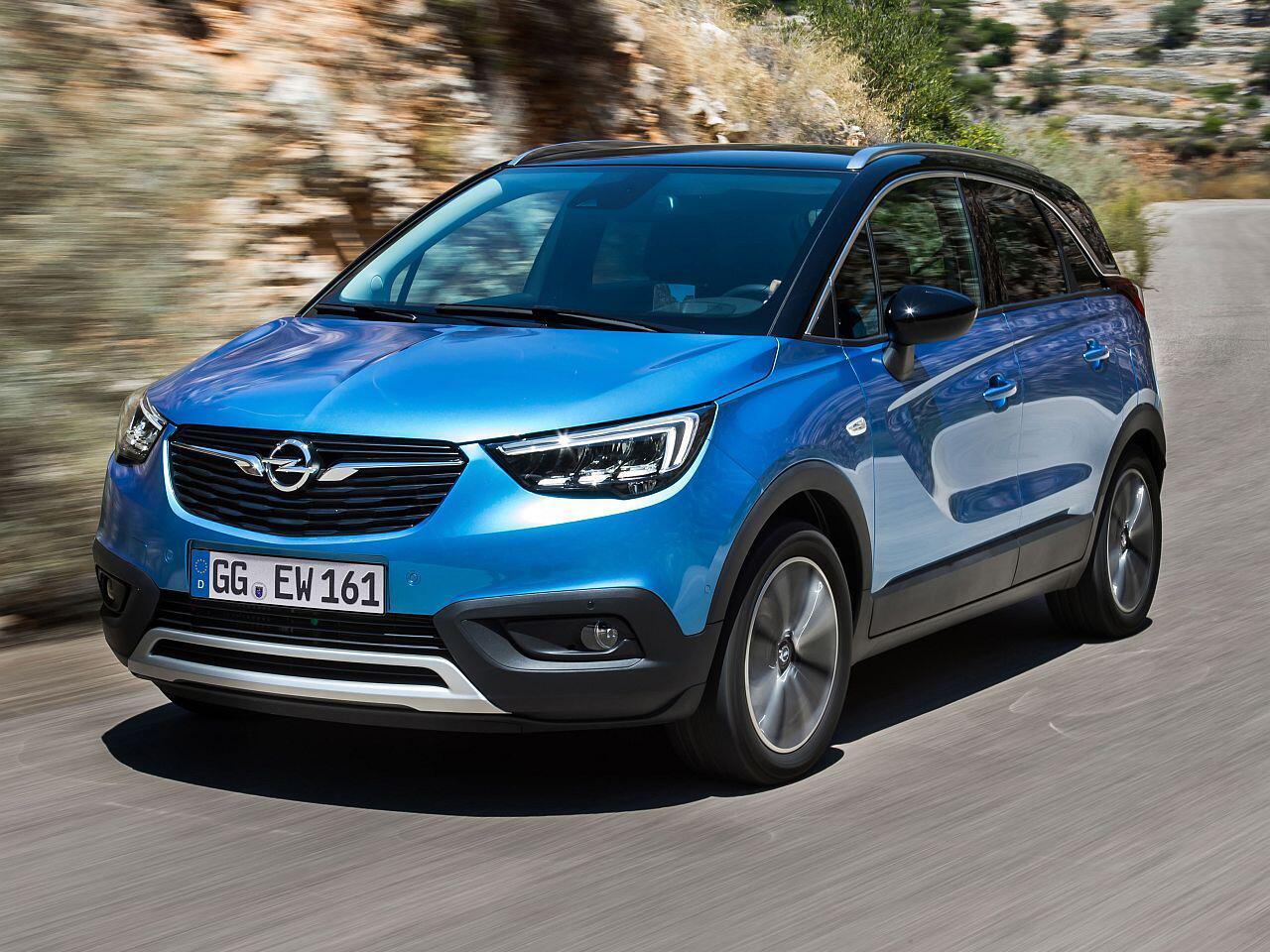 Bild zu Platz 13: Opel Crossland X