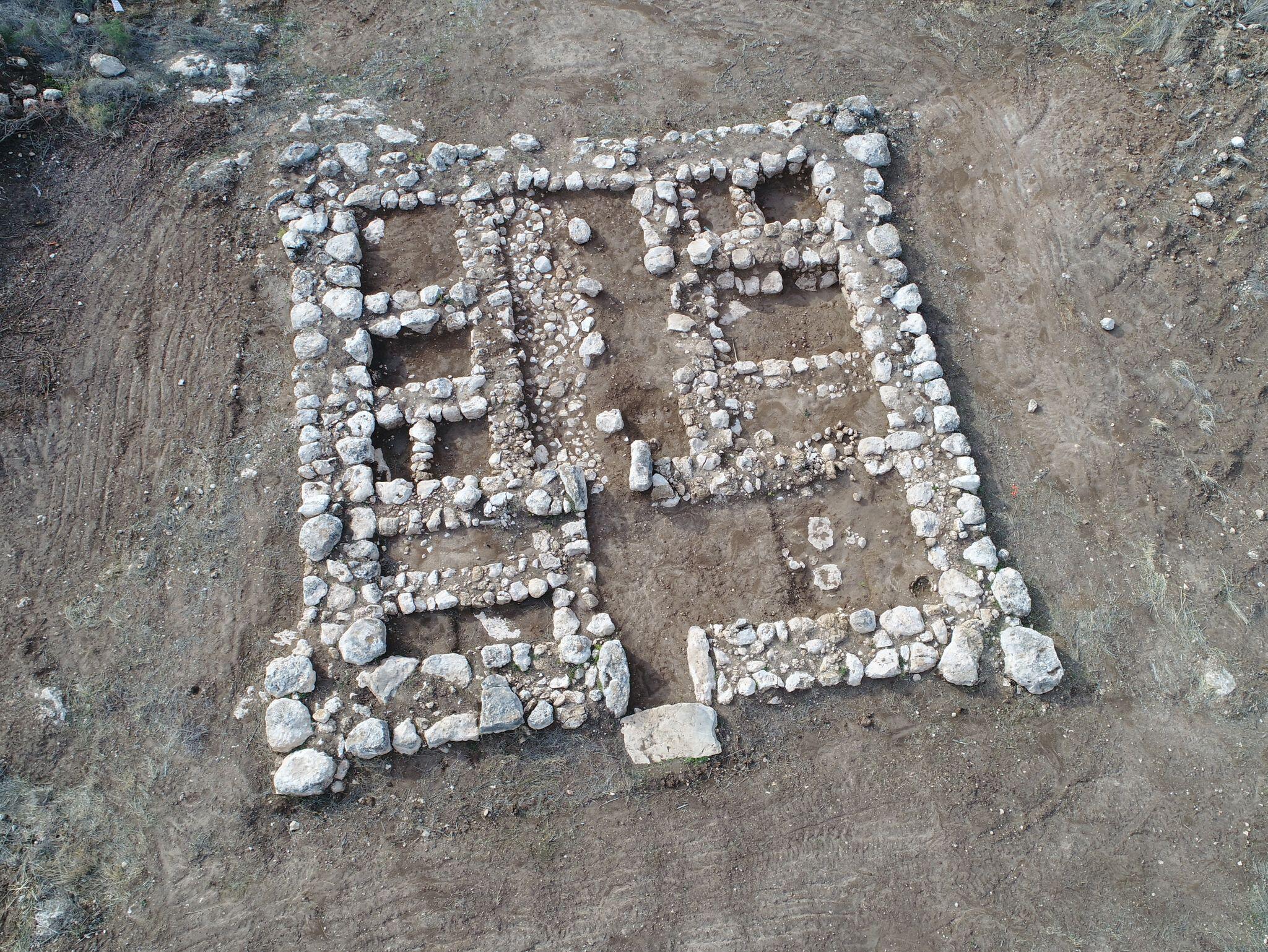 Bild zu Überreste von 3200 Jahre alter Festung in Israel gefunden