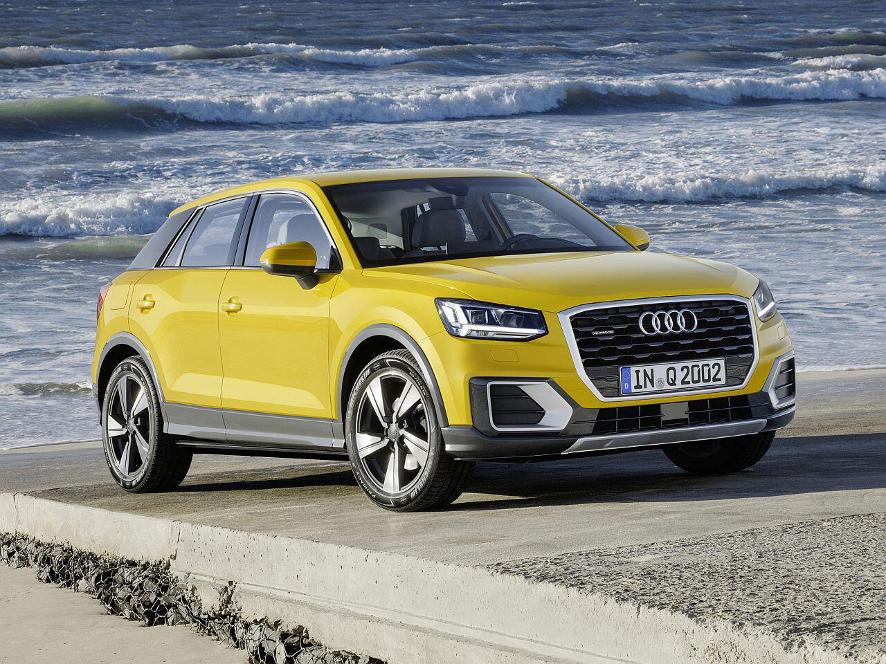 Bild zu Platz 12: Audi Q2