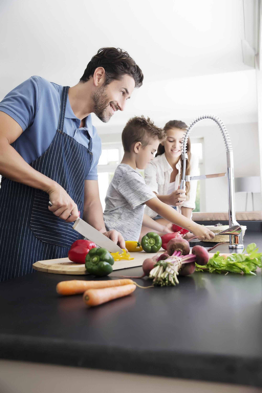 Bild zu Gemüse waschen