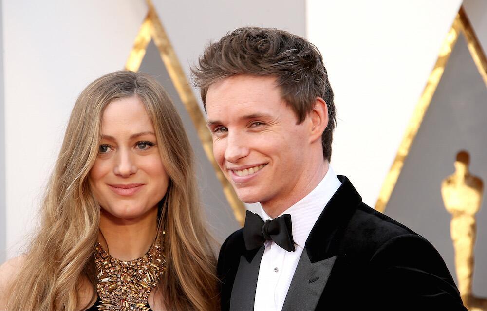 Bild zu Eddie Redmayne und Hannah Bagshawe bei den Oscars im Februar 2016