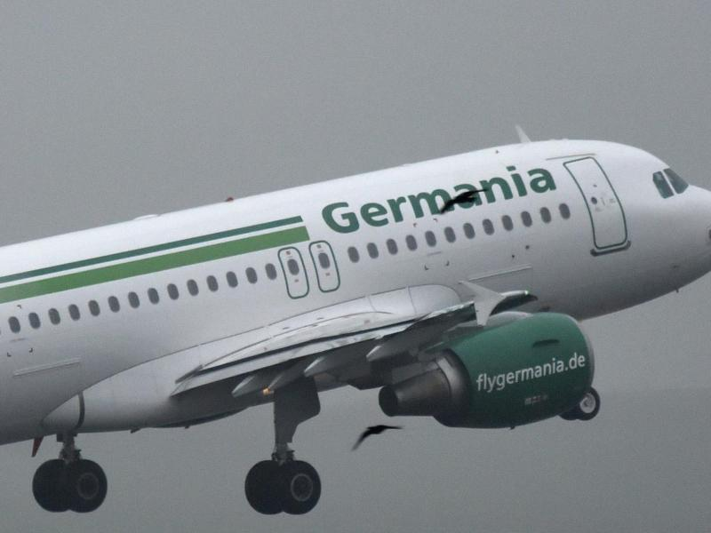 Bild zu Germaina-Flugzeug
