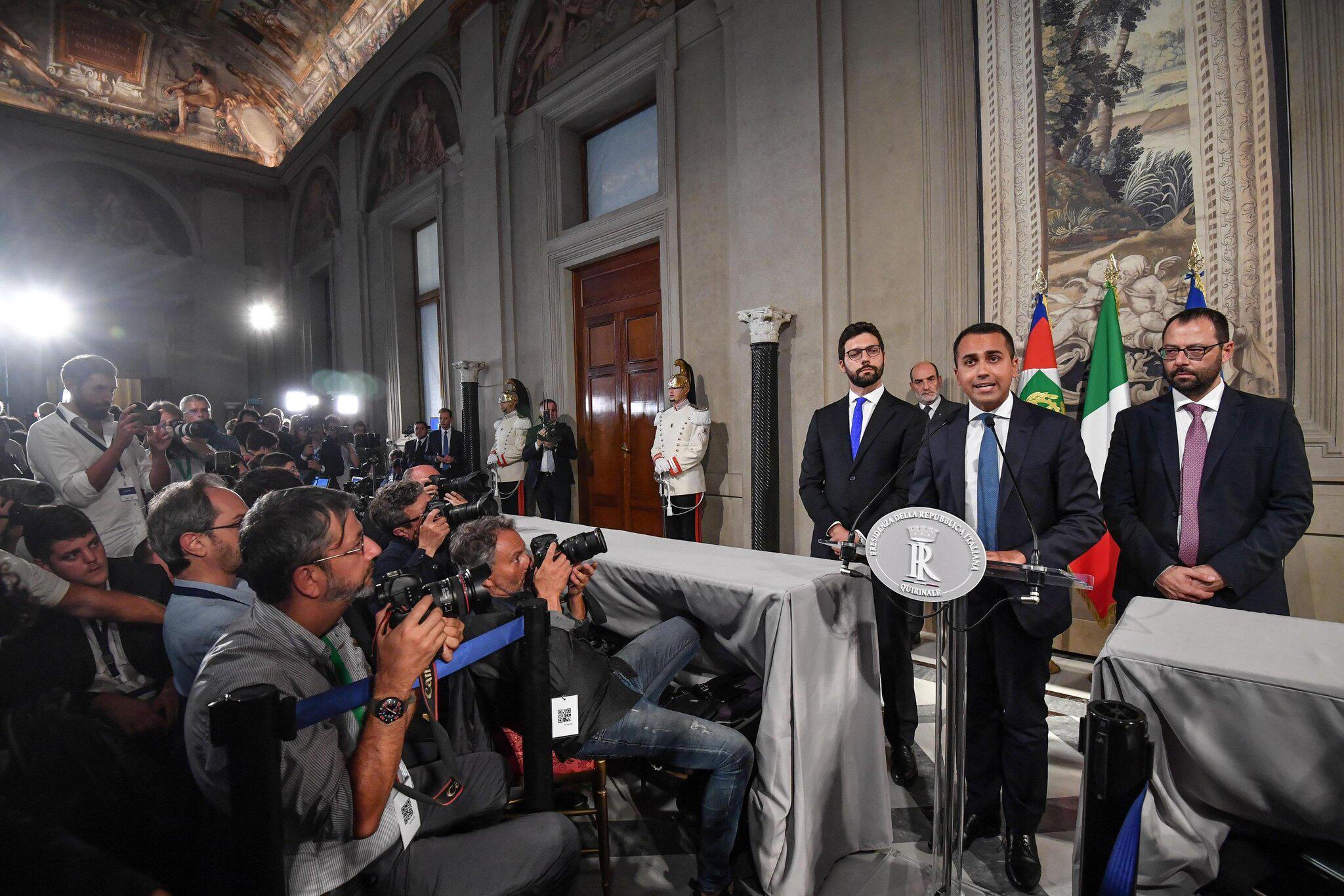 Bild zu Regierungskrise in Italien