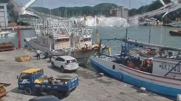 Bild zu Taiwan Brückeneinsturz