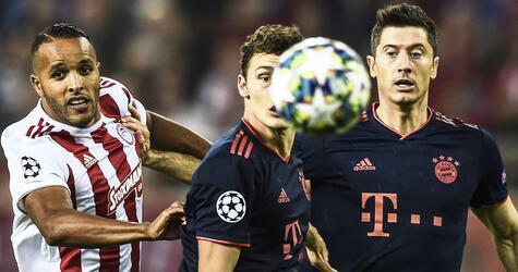 Olympiakos Piräus - Bayern München