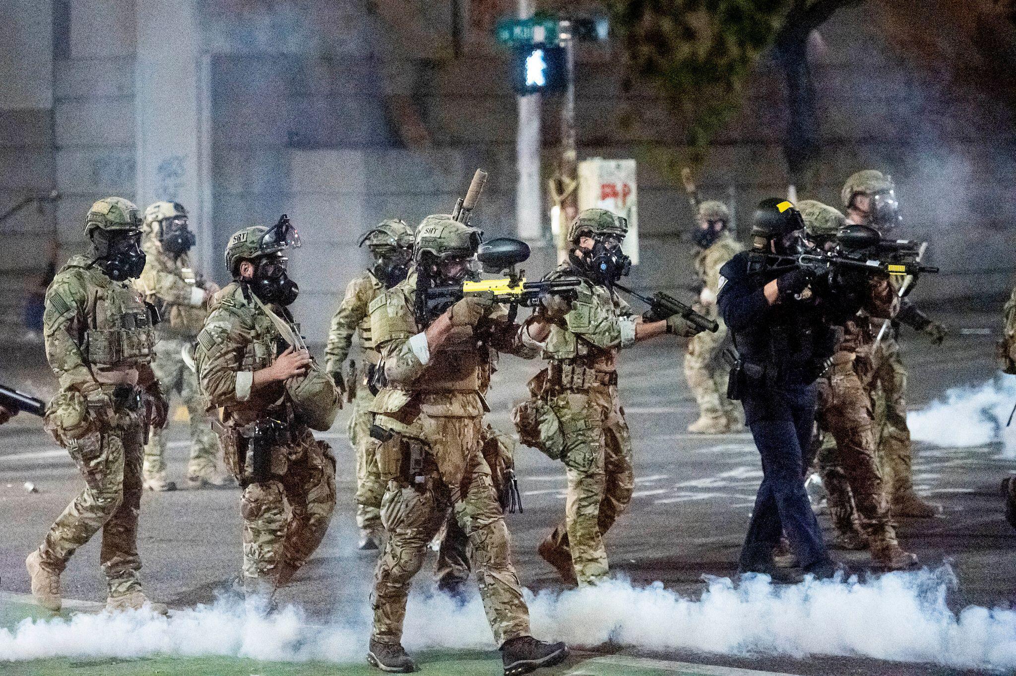 Bild zu US-Regierung schickt «Hunderte» Bundespolizisten nach Chicago