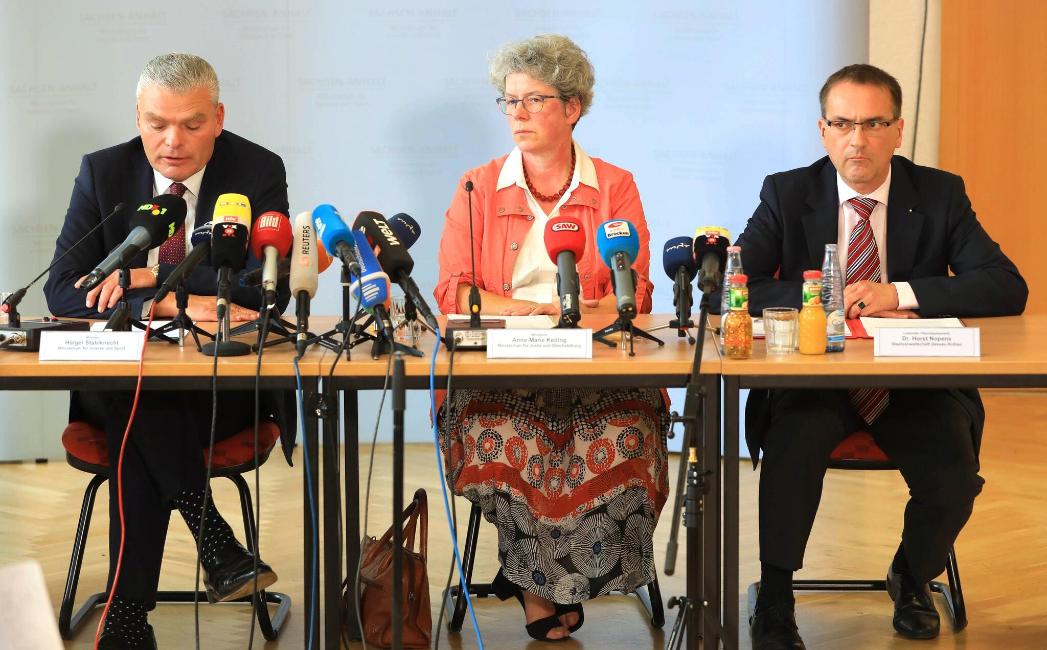 Bild zu Pressekonferenz zu den Ereignissen in Köthen