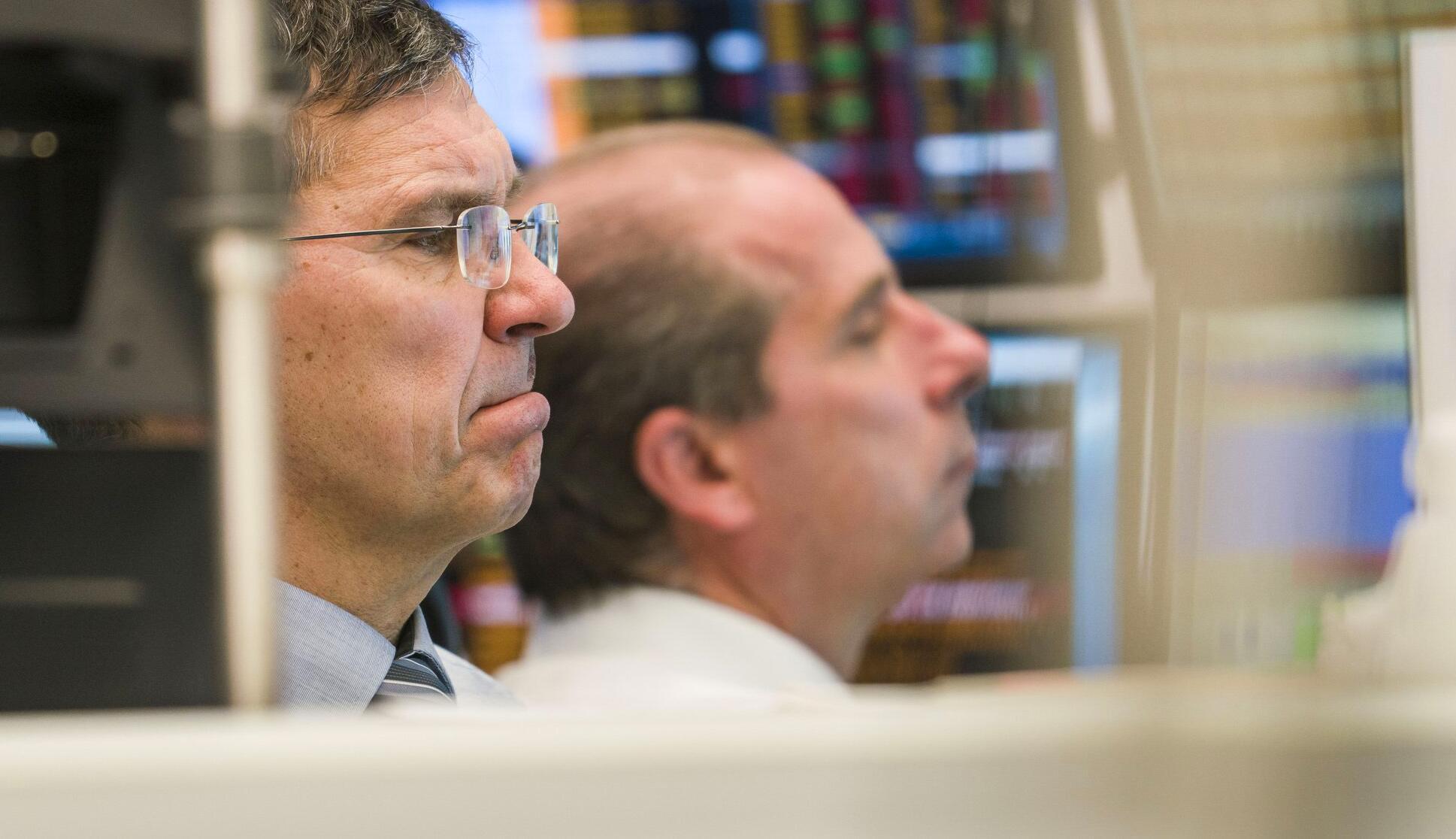 Bild zu Coronavirus - Stock Exchange in Frankfurt am Main