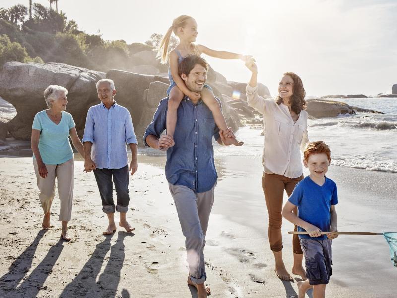 Bild zu Urlaub mit der ganzen Familie