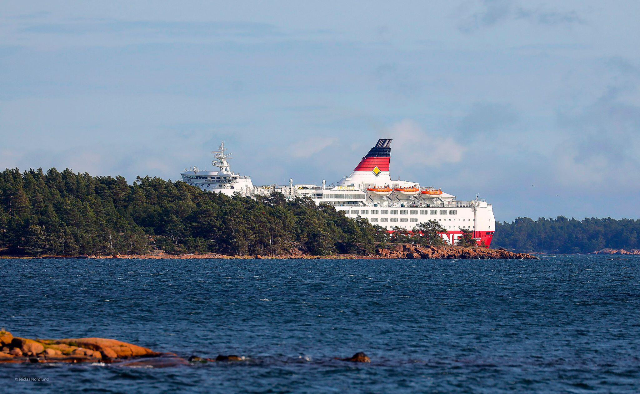 Bild zu Finnland - Fähre in der Ostsee auf Grund gelaufen