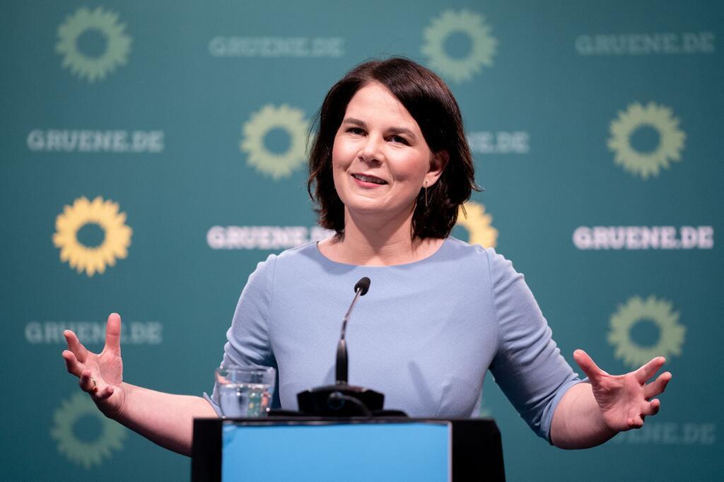 Pressekonferenz Baerbock