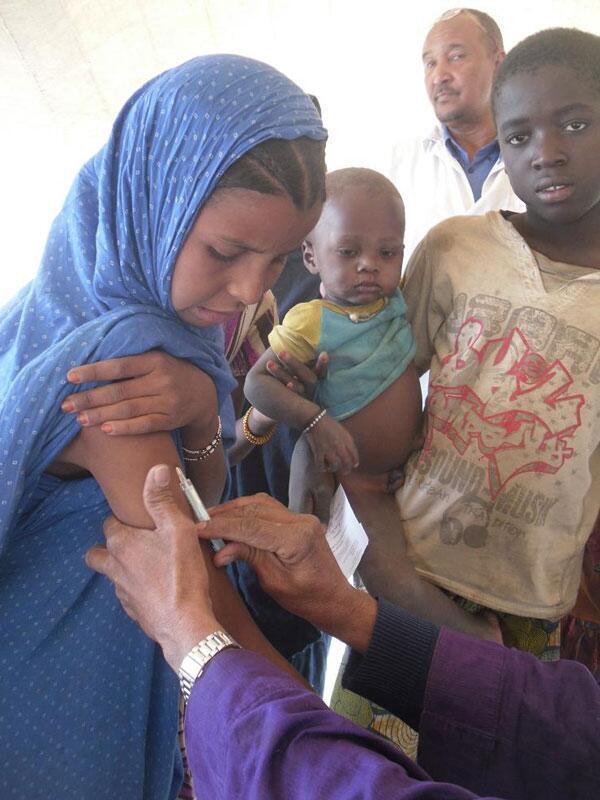Bild zu Impfung