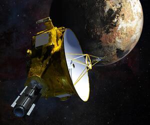 """New Horizons"" und Pluto-Mond Charon"