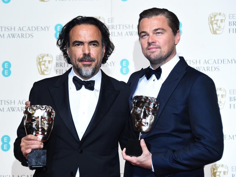 Bild zu Alejandro González Iñárritu + Leonardo DiCaprio