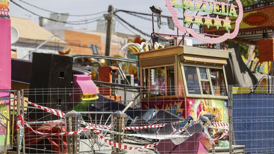 Panik bei Kirmes-Unfall in Spanien