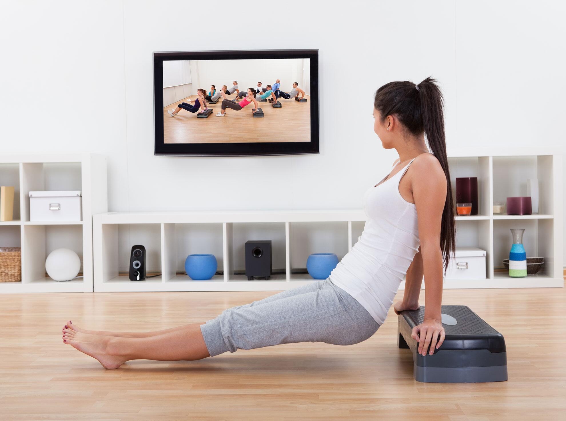 Bild zu Hantel Workout