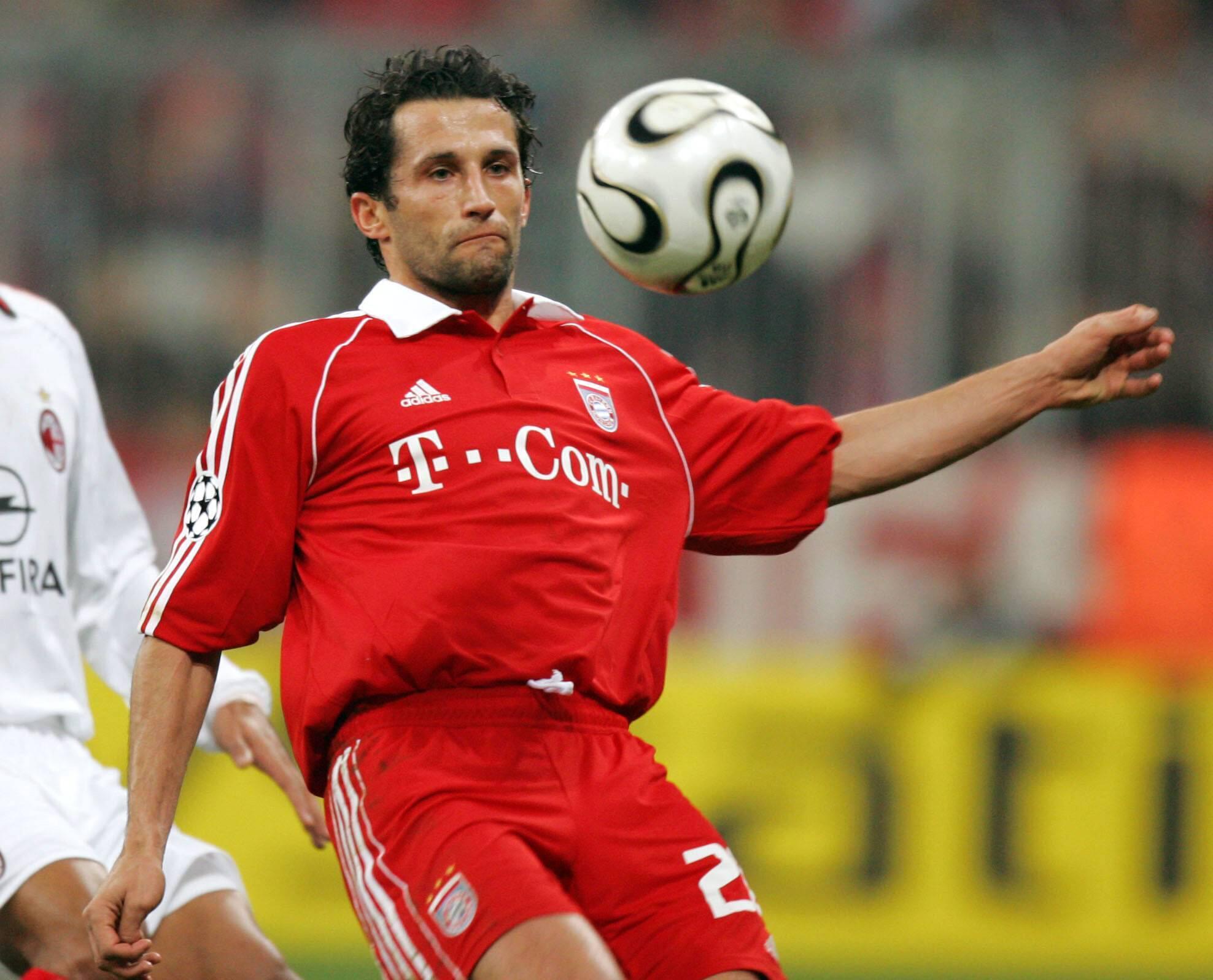 Bild zu Hasan Salihamidzic, FC Bayern München, AC Mailand, Champions League, Achtelfinale, 2005/06