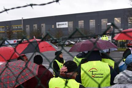 Streik Amazon Bad Hersfeld