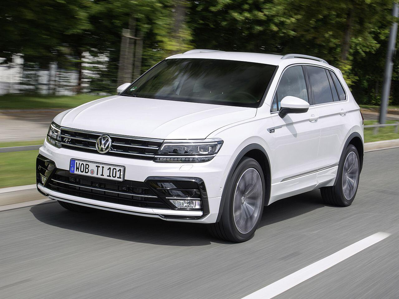 Bild zu Platz 1: VW Tiguan