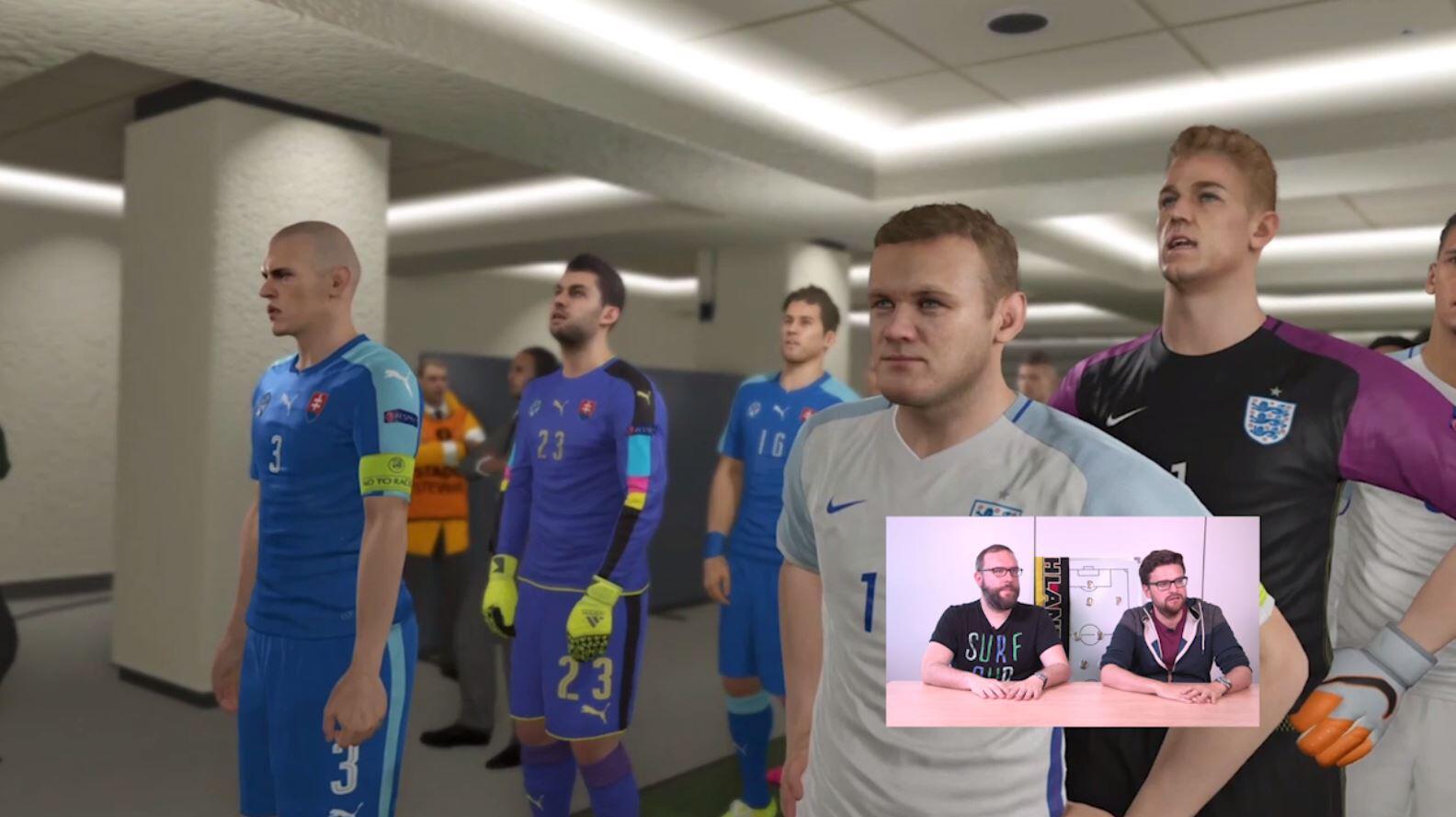 Bild zu Slowakei England PES
