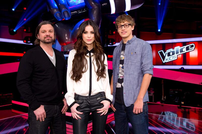 "Bild zu ""The Voice Kids"": Henning Wehland, Lena Meyer-Landrut und Tim Bendzko"