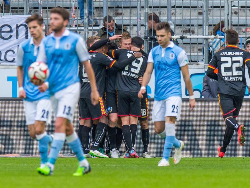Bild zu TSV 1860 München - Karlsruher SC