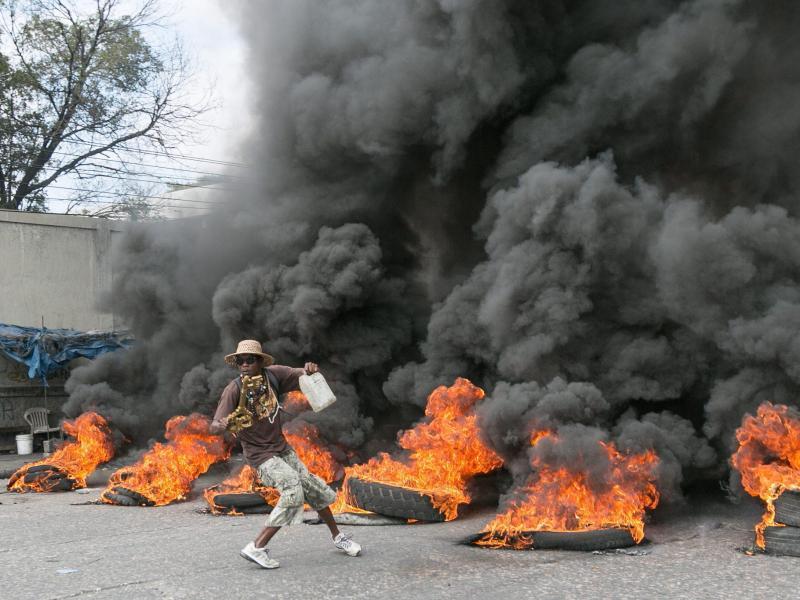 Bild zu Unruhen in Haiti