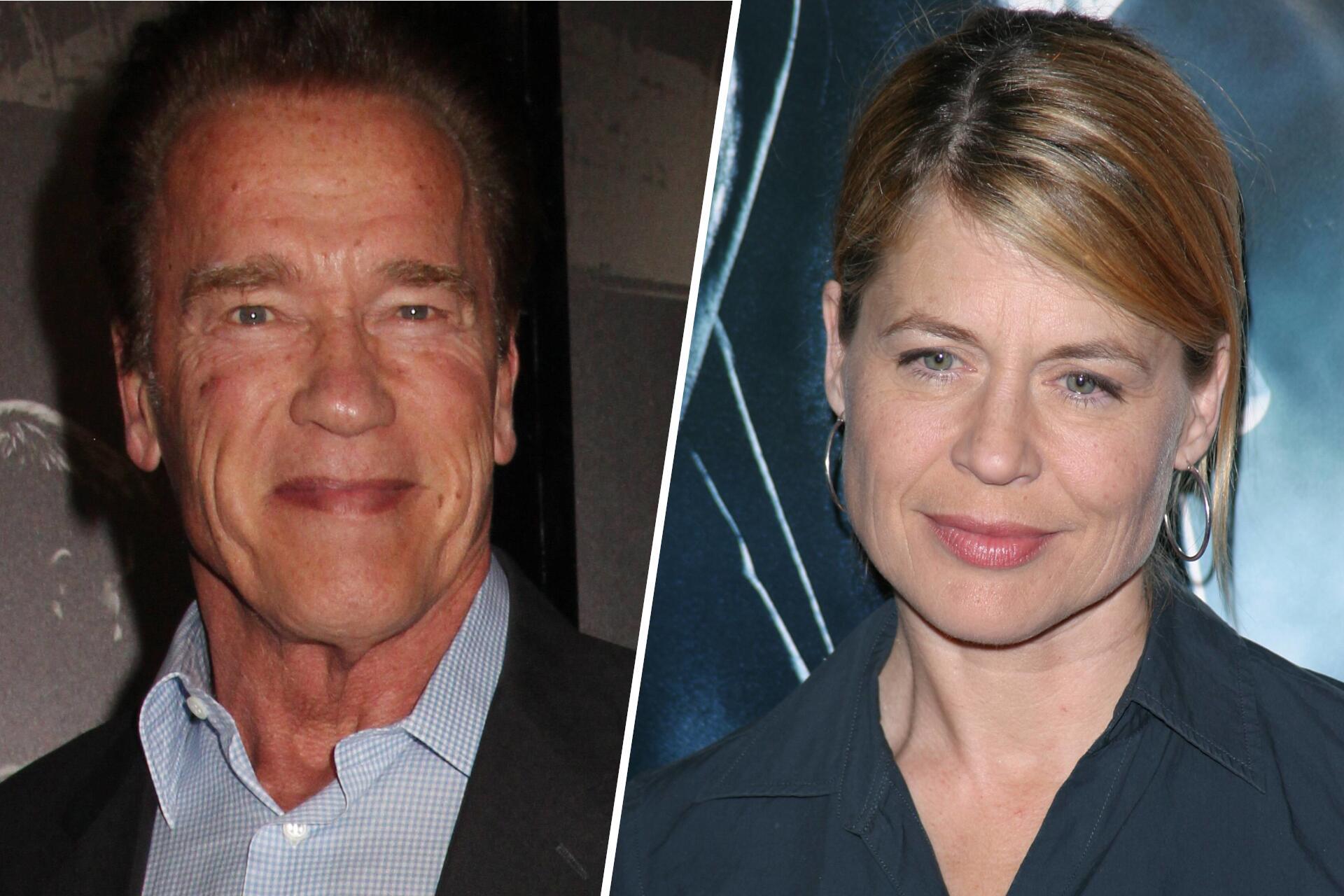 Bild zu Arnold Schwarzenegger, Linda Hamilton
