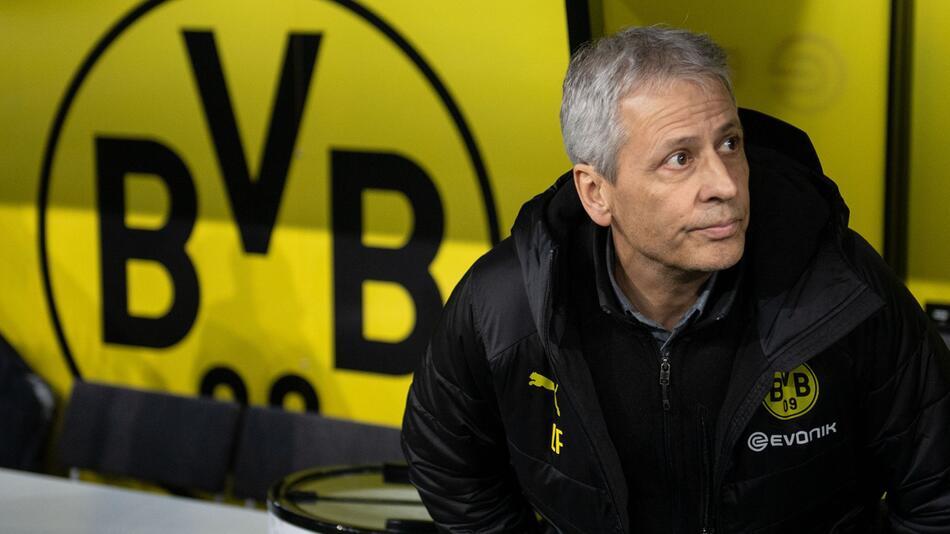 Borussia Dortmund: Trainer Lucien Favre