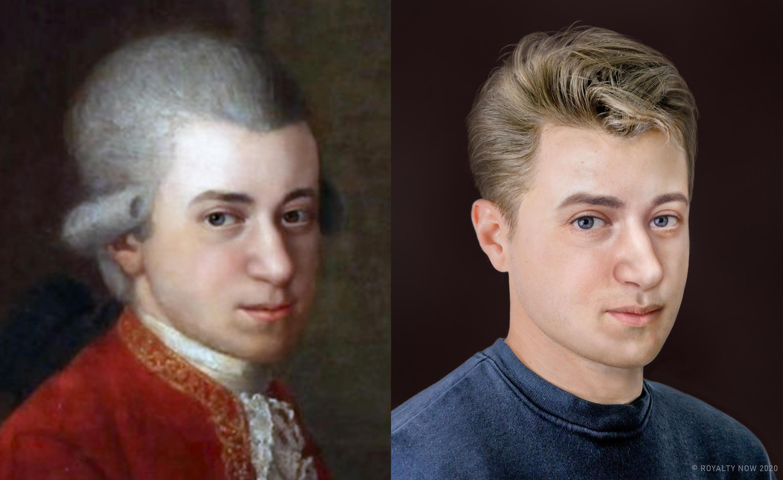 Bild zu Wolfgang Amadeus Mozart