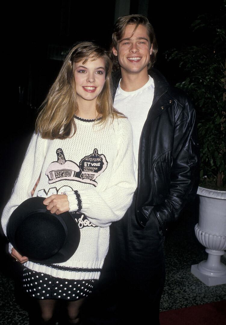 Bild zu Brad Pitt, Freundin, Shalane McCall