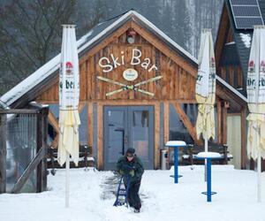 Ski Bar im Skigebiet Holzhau