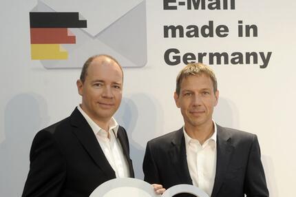 Ralph Dommermuth und René Obermann