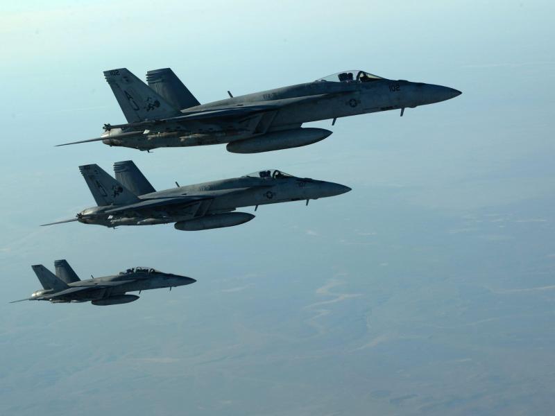 Bild zu US-Kampfjets