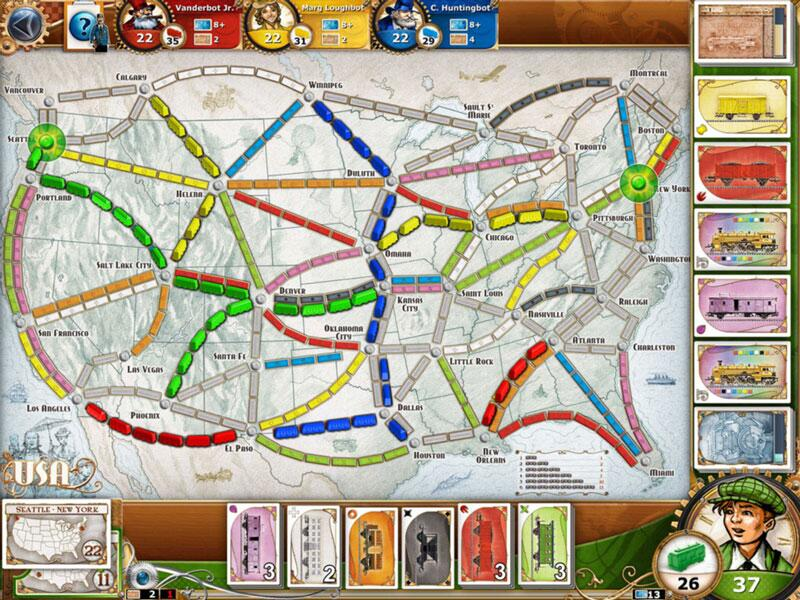 Bild zu Zug um Zug (Ticket to Ride)