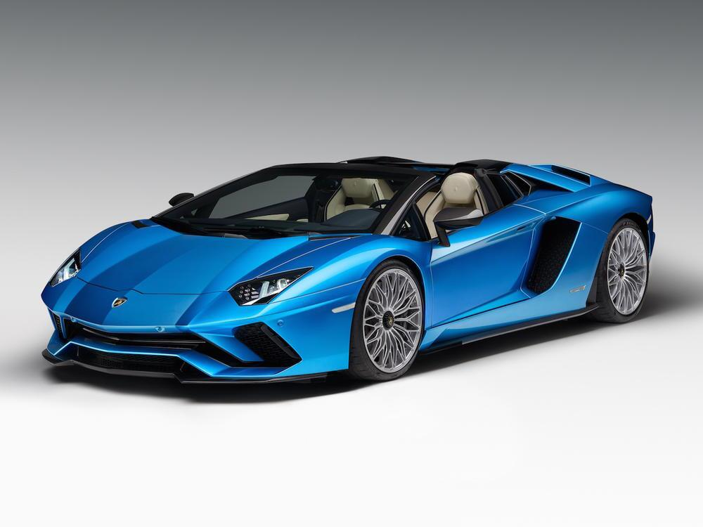 Bild zu Lamborghini Aventador S Roadster