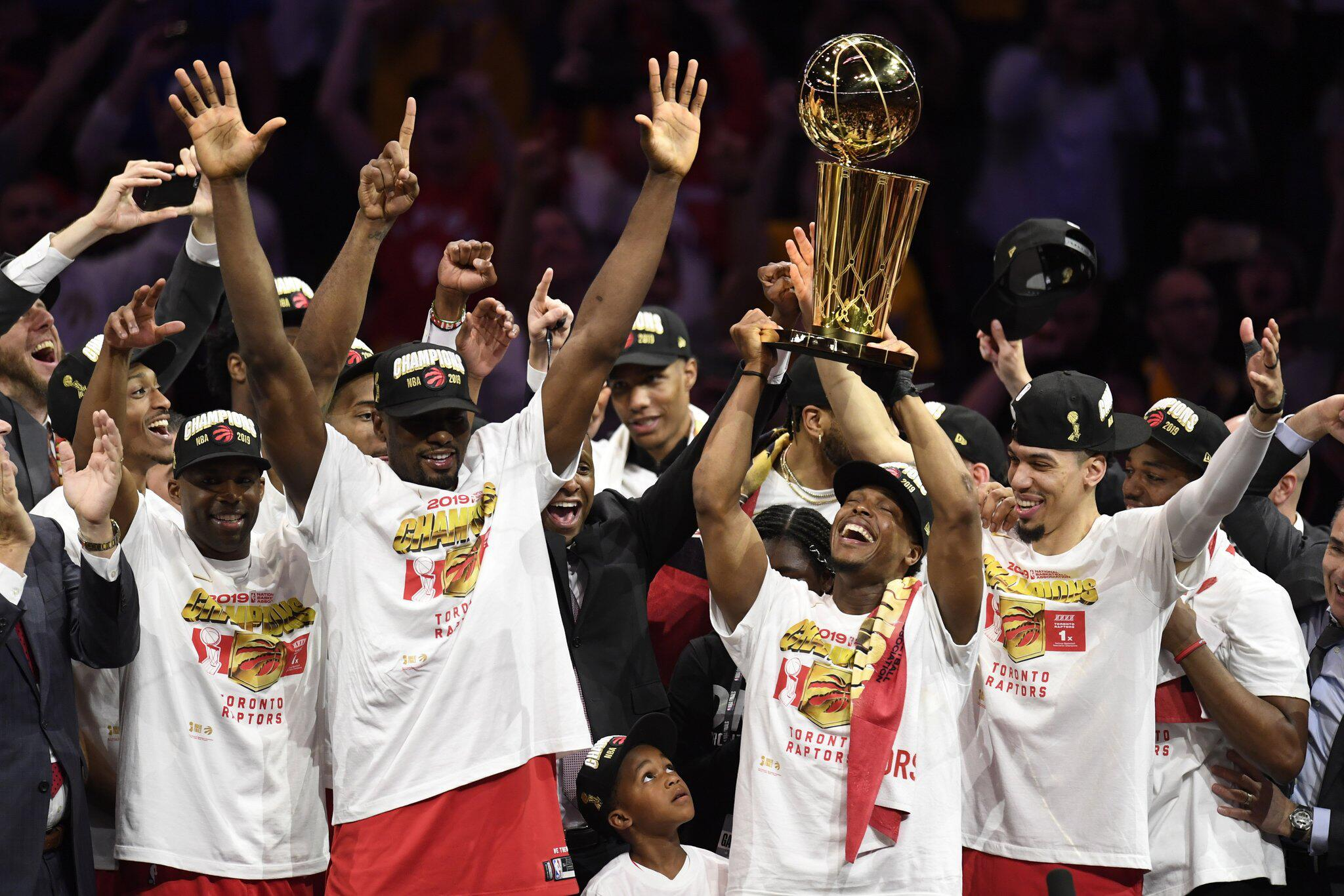 Bild zu NBA Finale Toronto - Oakland