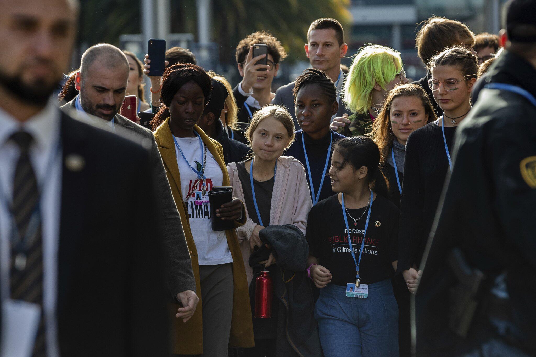 Bild zu 25. UN-Klimakonferenz in Madrid - Greta Thunberg