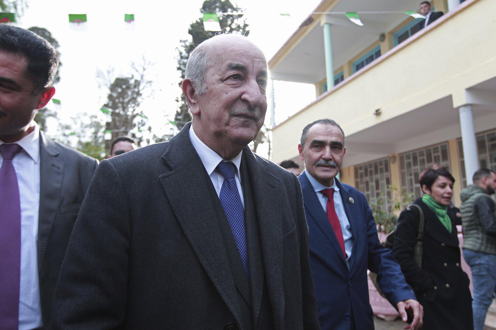Bild zu Präsidentenwahl, Algerien, Abdelmadjid Tebboune
